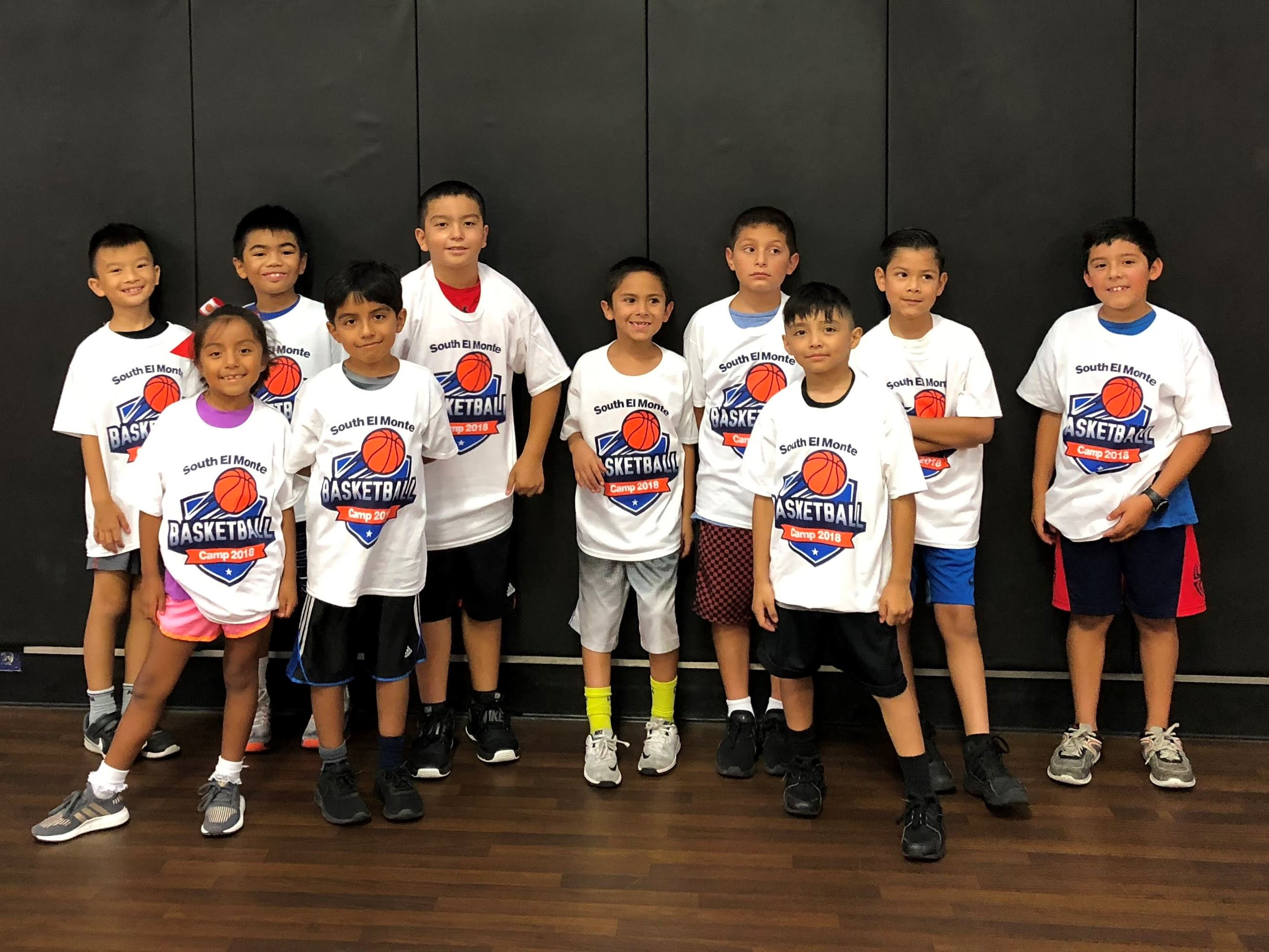 Youth Summer Basketball Camp Team
