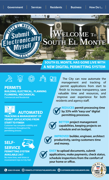 SEM Permitting Services flyer